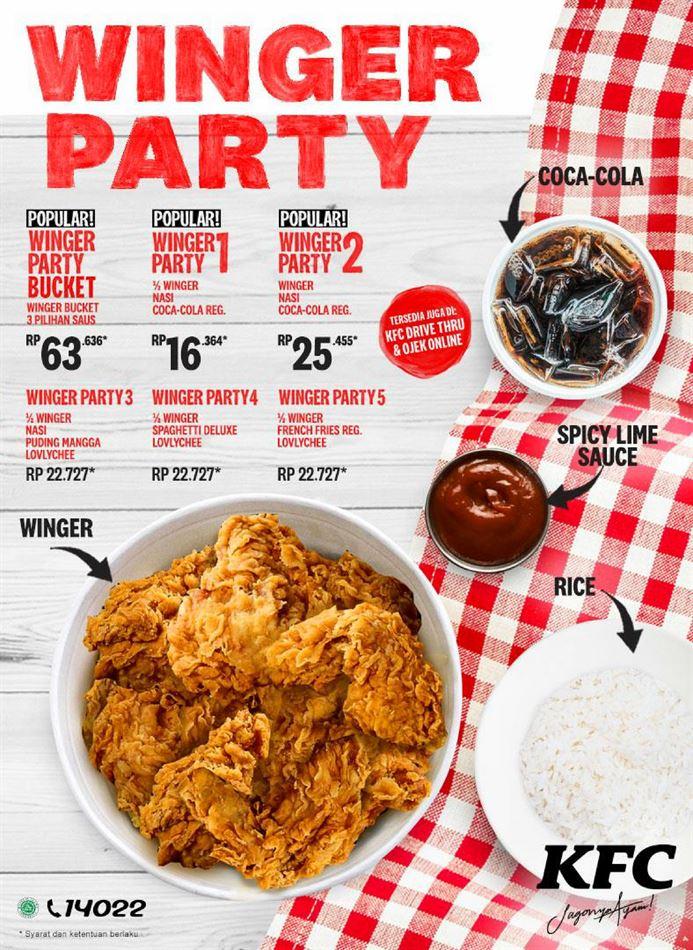Katalog Promo KFC 13 April - 30 April 2020 - Promo Produk