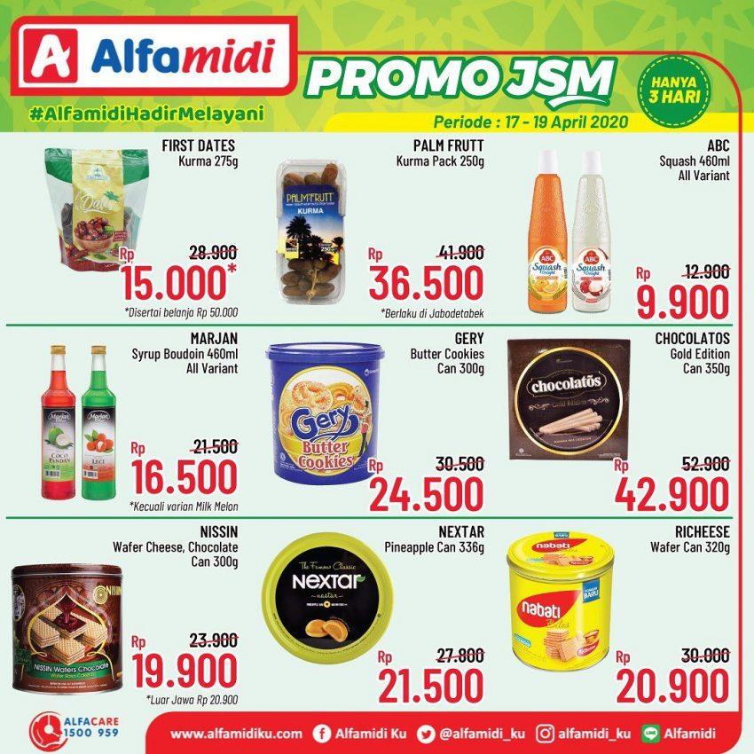 Katalog Promo Jsm Alfamidi 17 19 April 2020 Terbit Promo Produk
