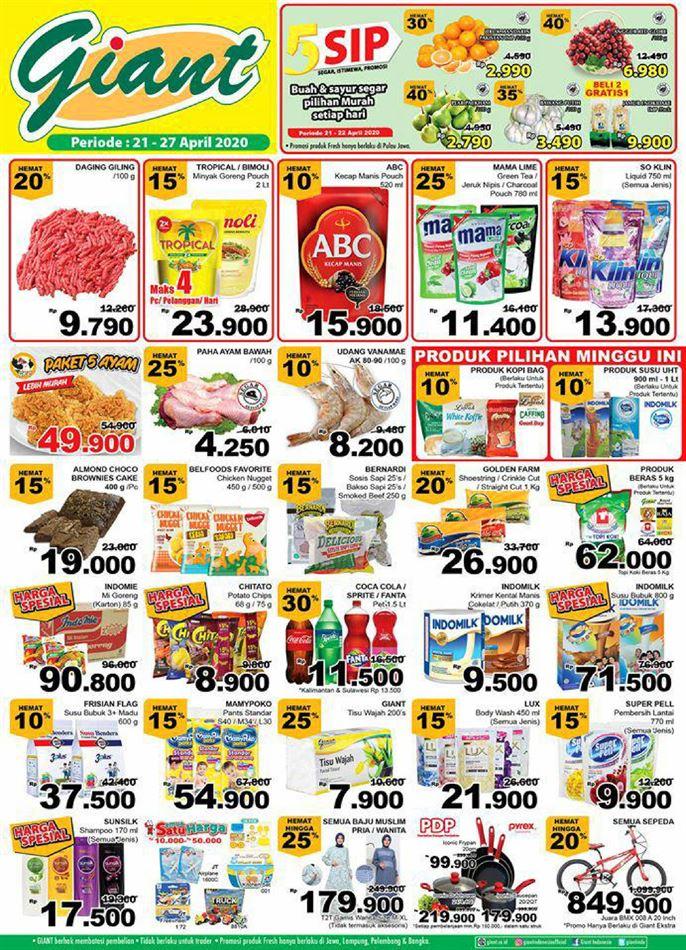 Katalog Promo Giant Ekstra 21 April 27 April 2020 Promo Produk