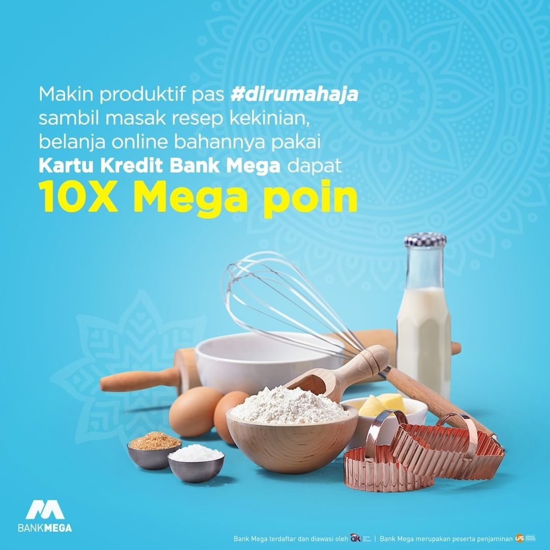 Promo Bank Mega Beli Bahan Menu Puasa Bonus Mega Poin Promo Produk