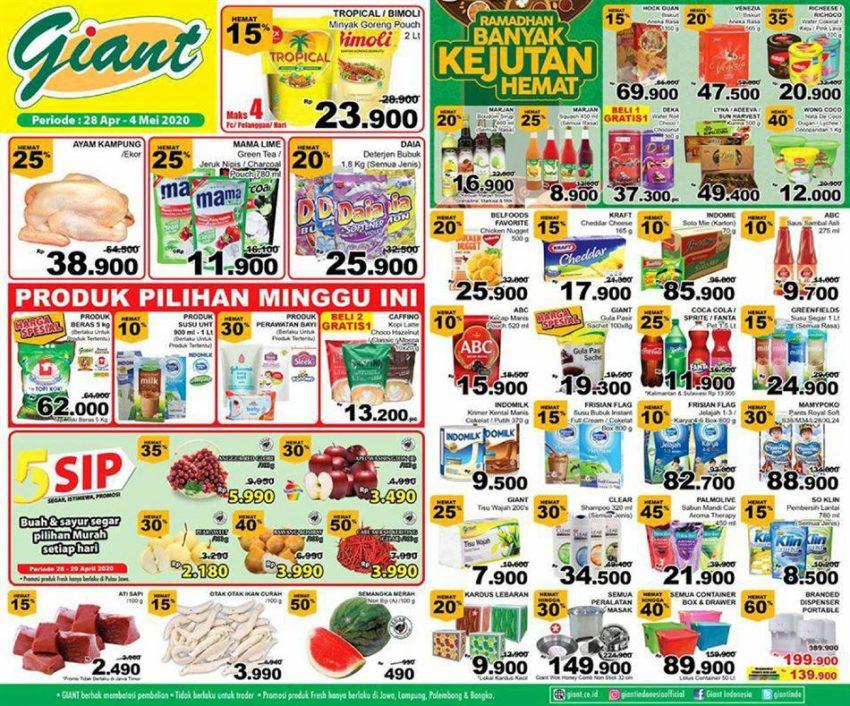 Katalog Promo Giant Ekstra 28 April 4 Mei 2020 Promo Produk