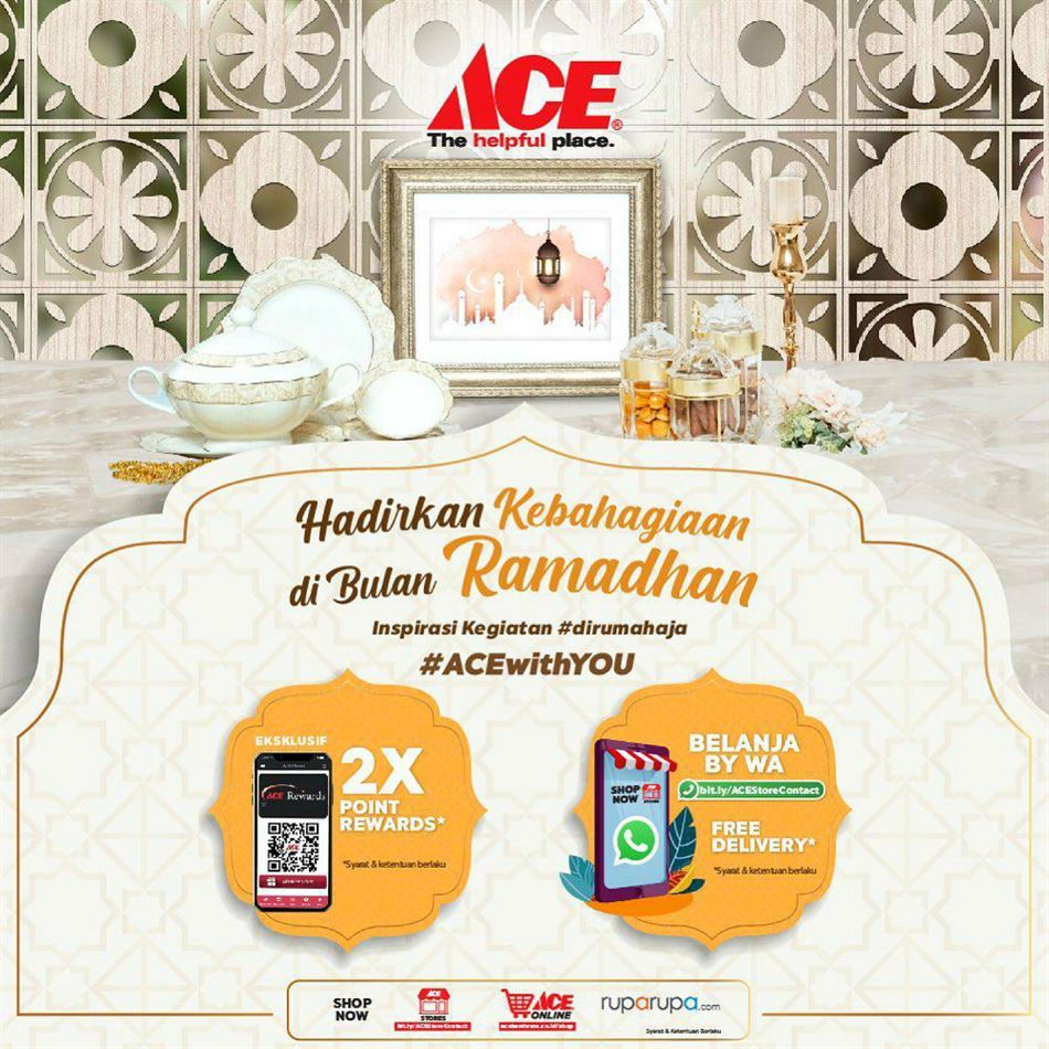 Katalog Promo Ace Hardware 1 Mei 3 Mei 2020 Promo Produk