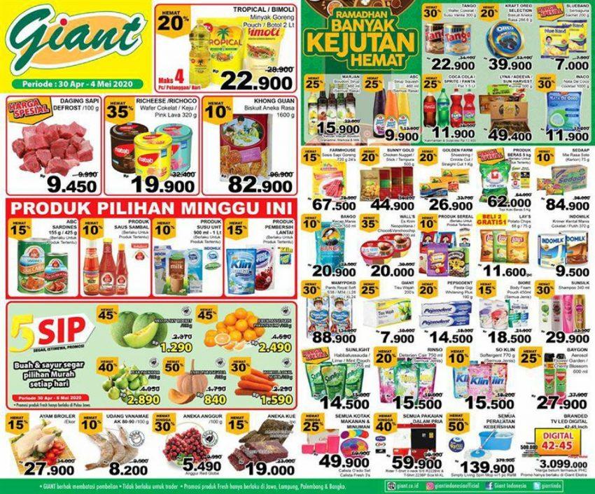 Promo Giant Ekstra Katalog Giant Ekstra Hari Ini 3 Mei 2020 Promo Produk