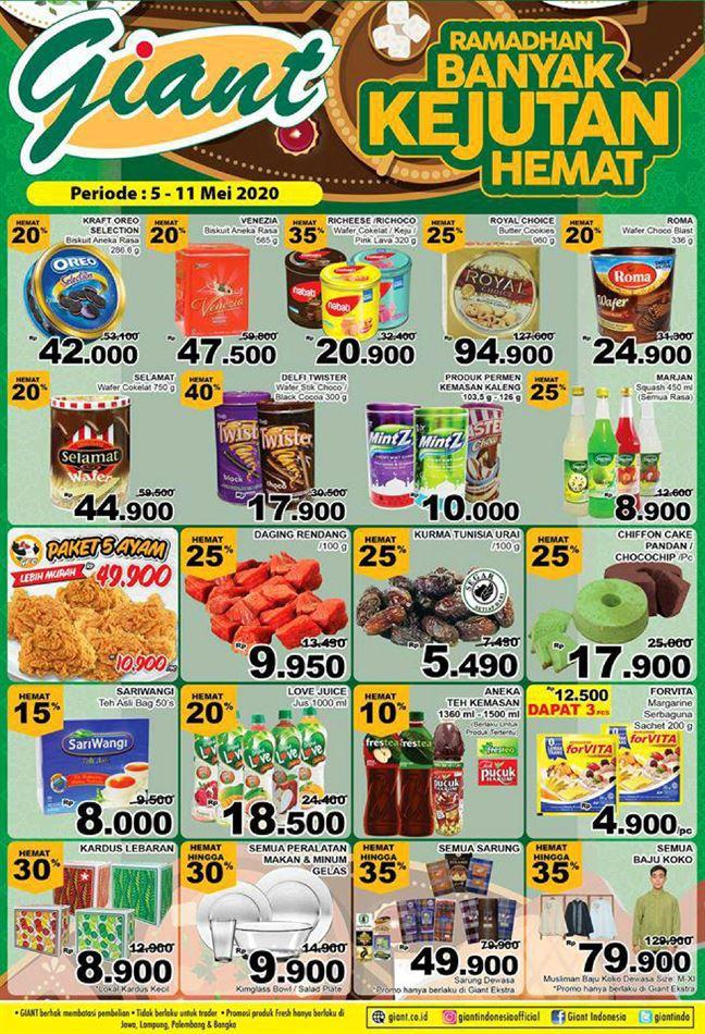 Promo Giant Ekstra Katalog Giant Ekstra 5 Mei 11 Mei 2020 Promo Produk