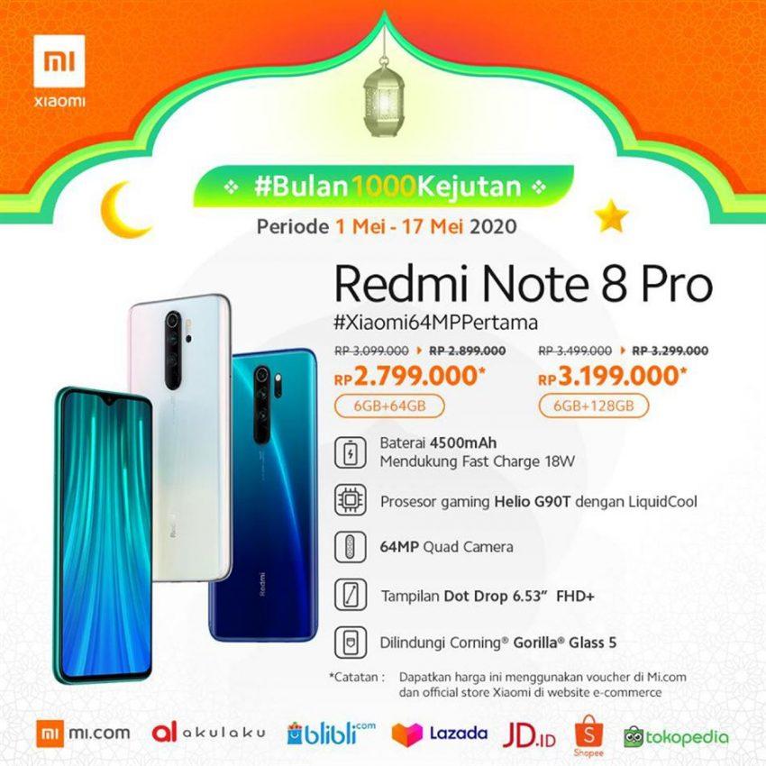 Promo Xiaomi Palembang 28 Agustus 2020 Cek Katalog Dan Diskon Promo Produk
