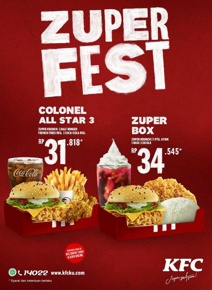 Promo KFC : KFC Promotion Hari Ini 24 Mei 2020 - Promo Produk