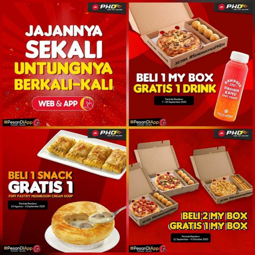 Katalog Pizza Hut Delivery Promo Spesial Merdeka