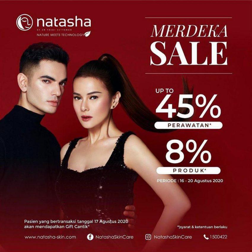 Katalog Natasha Skin Care Merdeka Sale