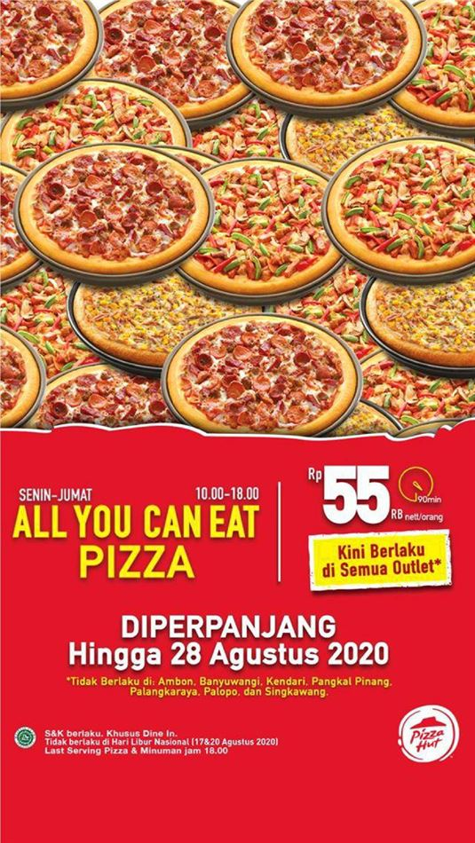 Katalog Pizza Hut All You Can Eat
