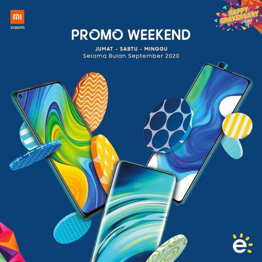Katalog Erafone Xiaomi Weekend Promo