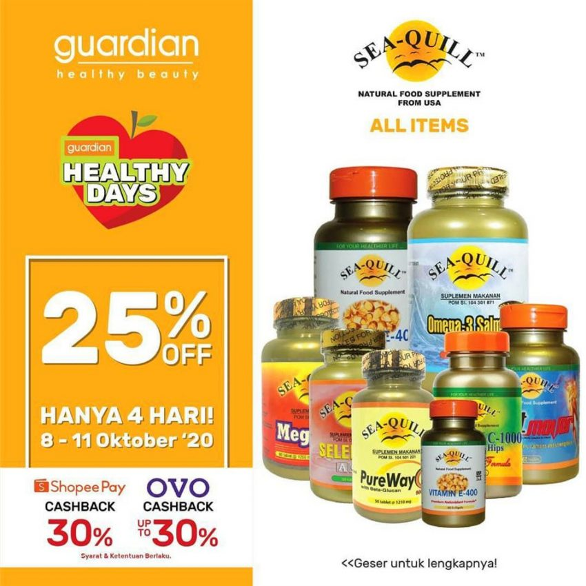 Katalog Guardian Sea-Quill Promotion