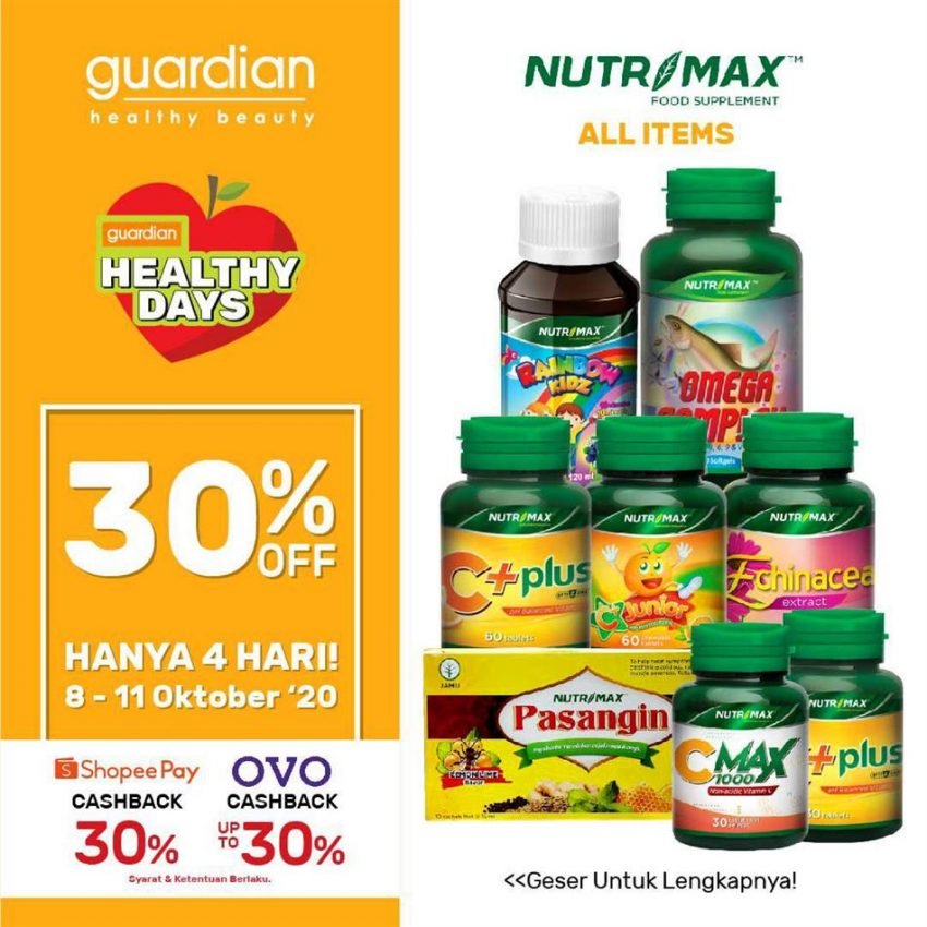 Katalog Guardian Nutrimax Promotion