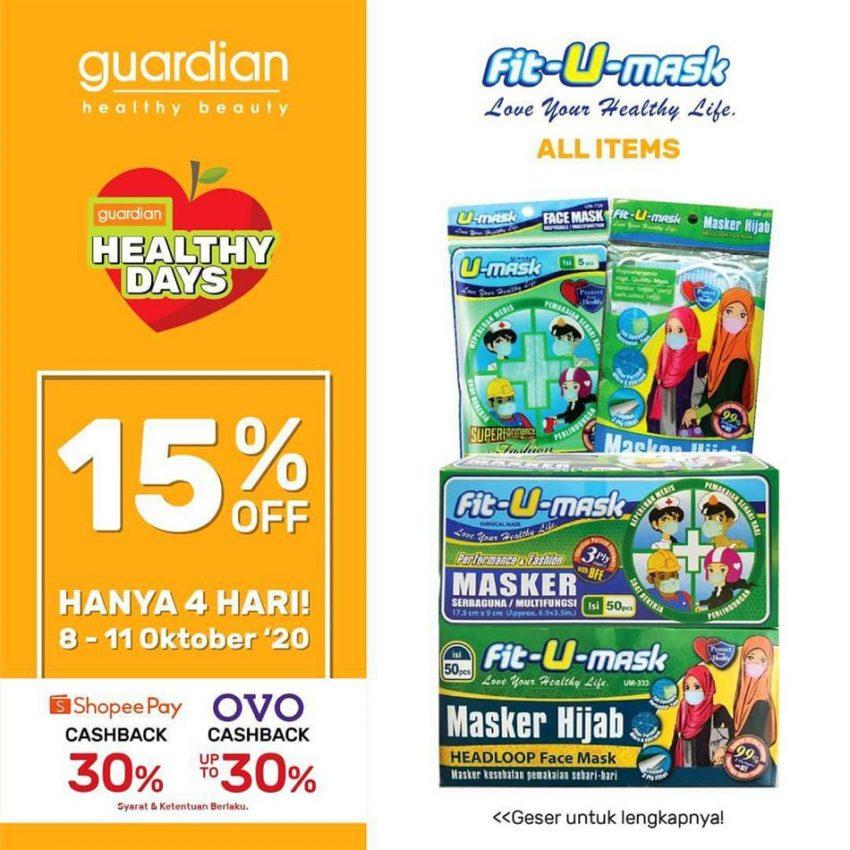 Katalog Guardian Fit- U-mask Promotion