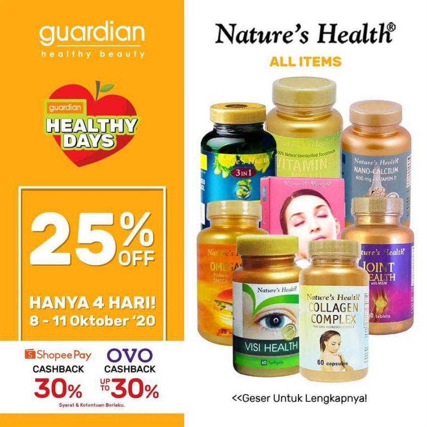 Katalog Guardian Nature's Health Promotion