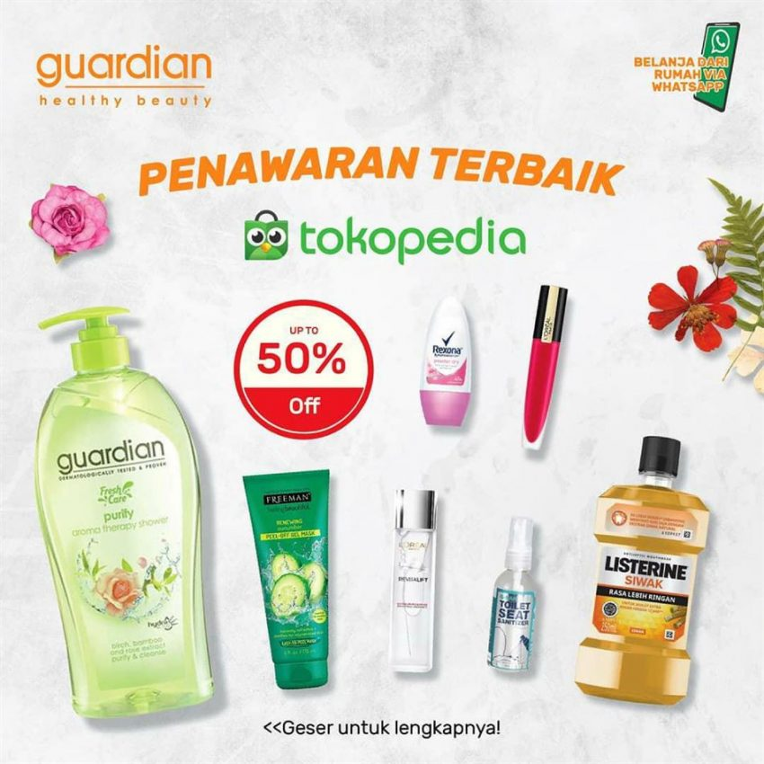 Katalog Guardian Tokopedia Promotion