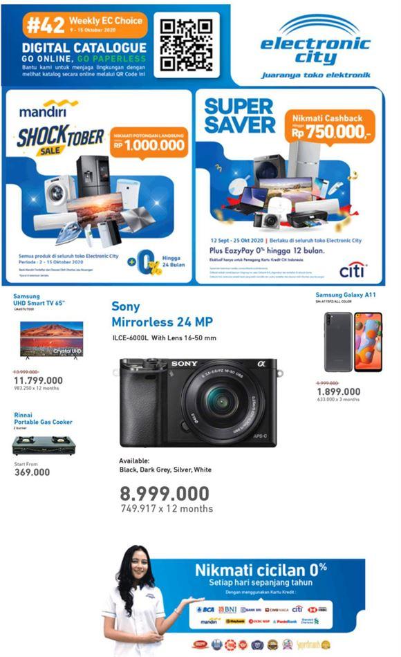 Katalog Bank BRI Cicilan 0% Erafone Promotion