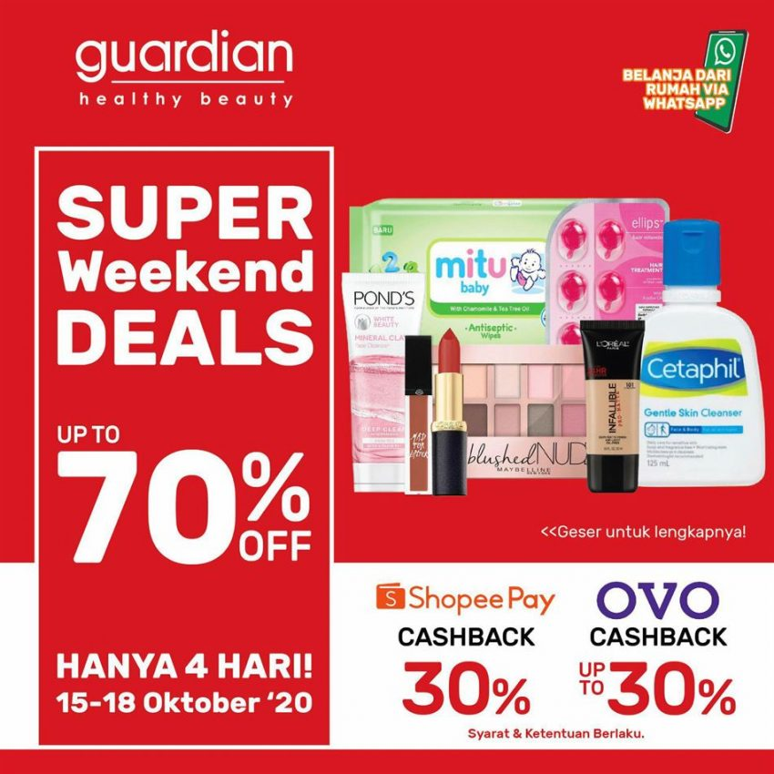 Katalog Guardian Super Weekend Deals