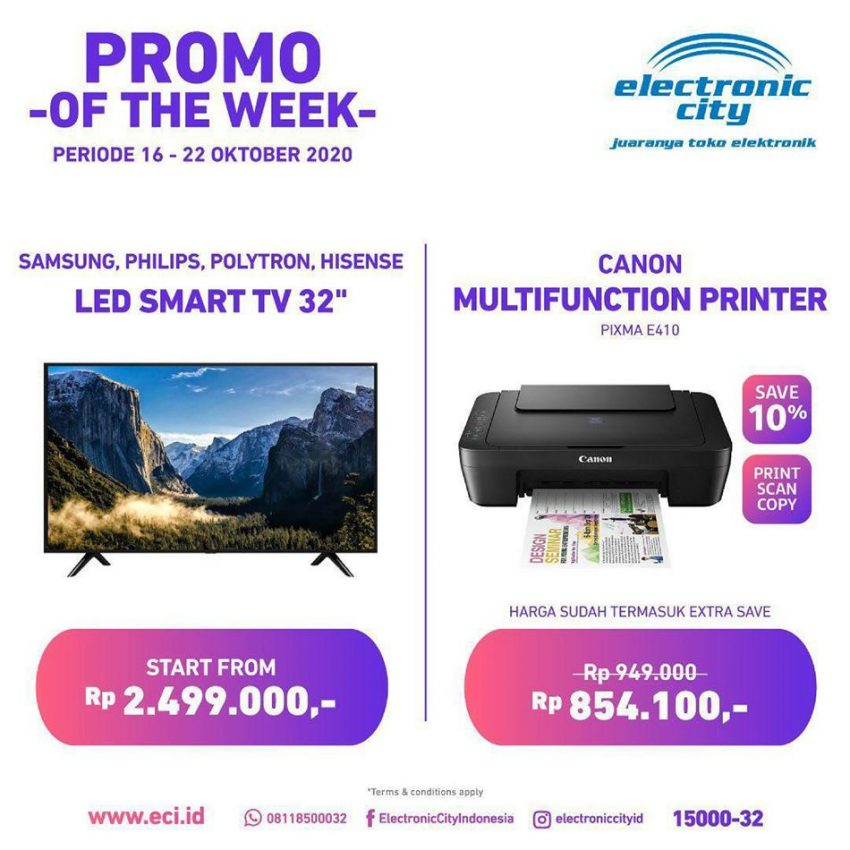 Katalog Electronic City Promo of the Week