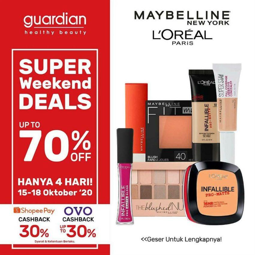 Katalog Guardian Maybelline Promo
