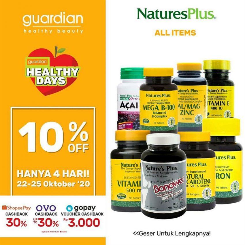 Katalog Guardian NaturesPlus Promotion