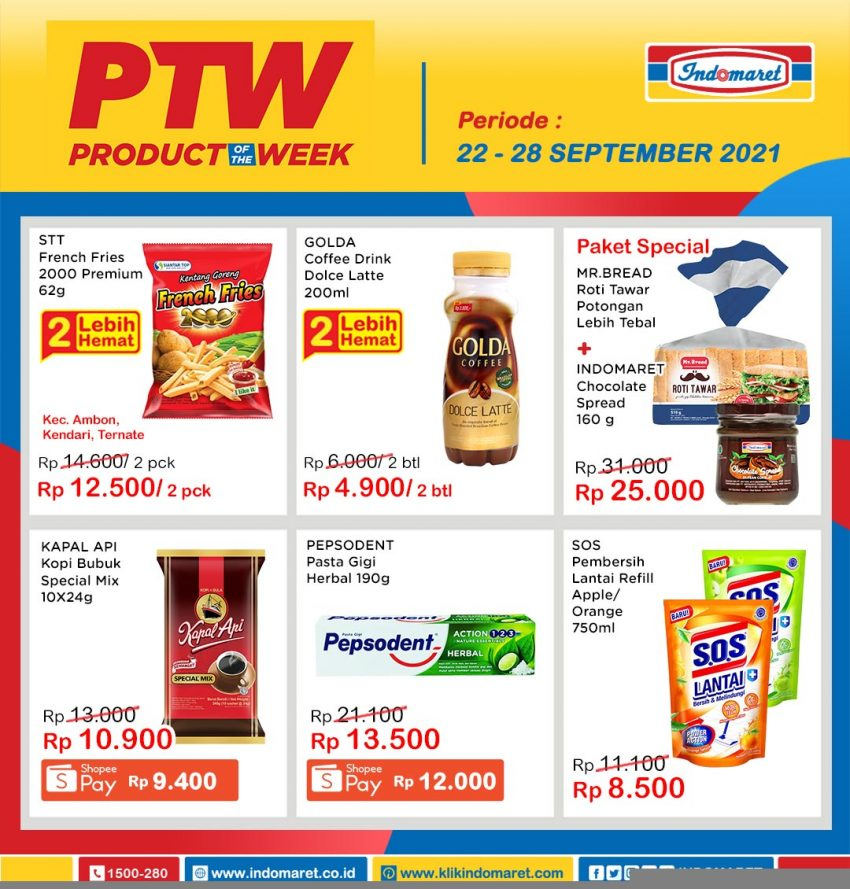 Promo Indomaret Product of The Week